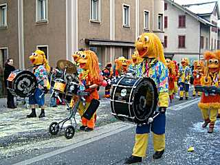 Lucerne Fasnacht (carnival) group (2005)